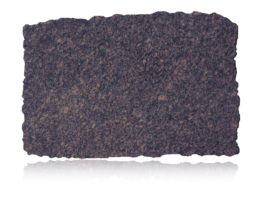 English Brown granite slab