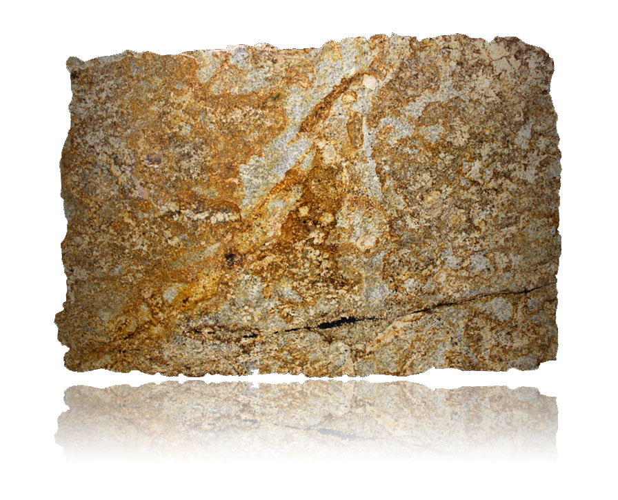 golden rustic slab